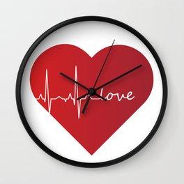 Lovebeat Wall Clock
