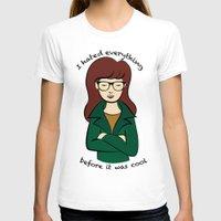 daria T-shirts featuring  Daria, the Original Hipster by Elizabeth A