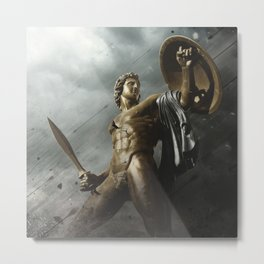 Cry Of Achillies Metal Print