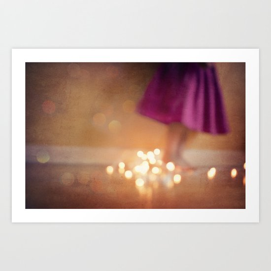 The magic hour Art Print