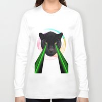 panther Long Sleeve T-shirts featuring Panther by mark ashkenazi