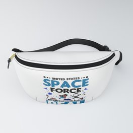 Anti Trump Gifts Space Force Trememdous Huge Totally Real Democrat Gift Fanny Pack
