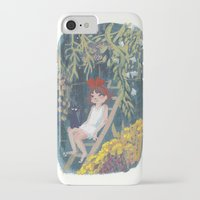 kiki iPhone & iPod Cases featuring Kiki by Verity