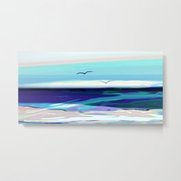 ocean touch no.4a Metal Print