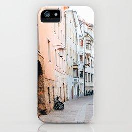 Streets of Innsbruck iPhone Case