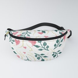 Hearts & Leaves Fanny Pack