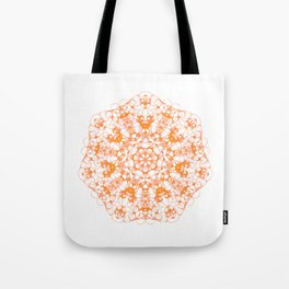 Magic Seven Mandala eden spirit orange Tote Bag