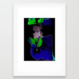 a watery death. #002 Framed Art Print
