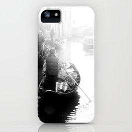 Gondoliers in Venice iPhone Case