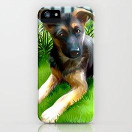 Lua the cutest GS Pup iPhone Case