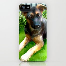 Lua the cutest GS Pup iPhone Case