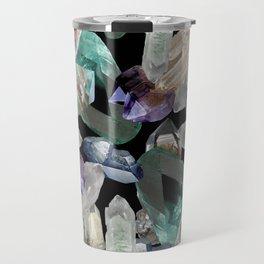 Crystal Pattern Travel Mug