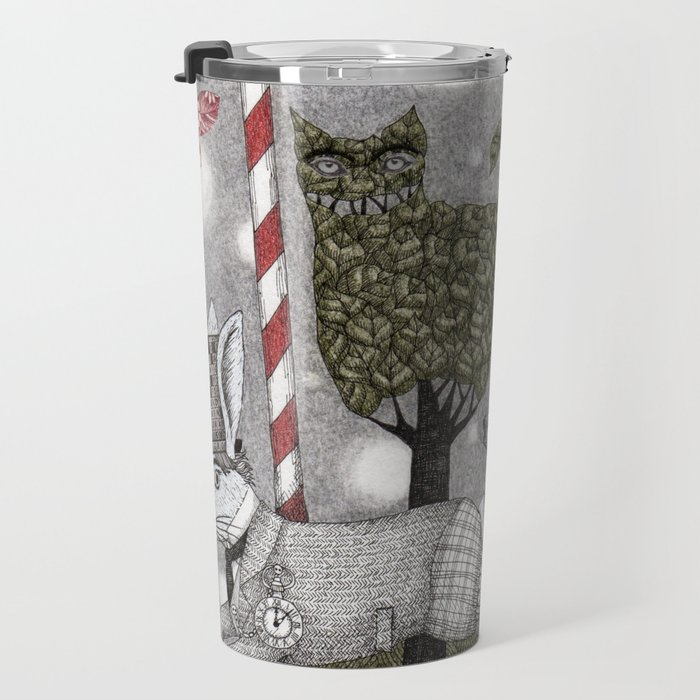A is for Alice Travel Mug