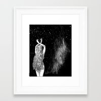 apollonia Framed Art Prints featuring asc 604 - L'invocation à Vénus (Venus under the sky) by From Apollonia with Love