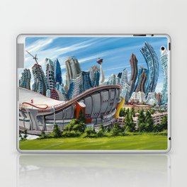 Downtown Calgary Skyline Laptop & iPad Skin