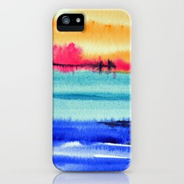 Sunset beauty iPhone Case
