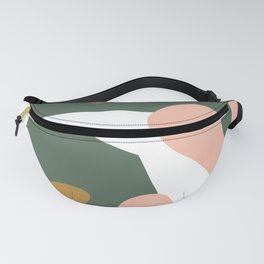 Modern Art Seaside F Fanny Pack