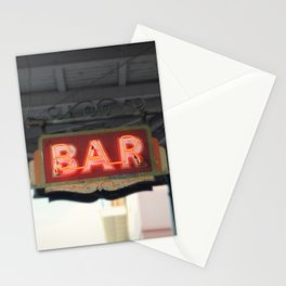 New Orleans Bar Sign Stationery Cards