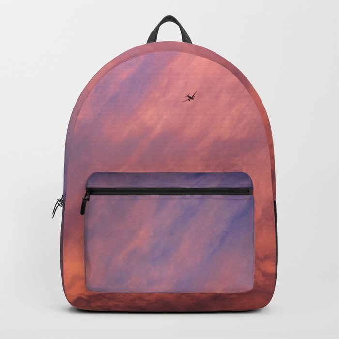 When a sunset meets the moon Backpack