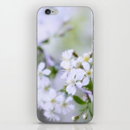 Apple-tree pastel iPhone Skin