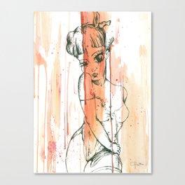 Pin Up Canvas Print