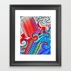 Going Shopping Framed Art Print