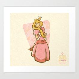 Peach | Nintendo All-Stars #6 Art Print