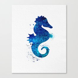 Sea Horse 018 Canvas Print