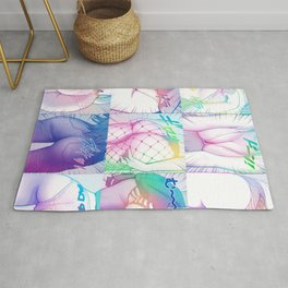 Sexy anime aesthetic - a very special compilation Rug