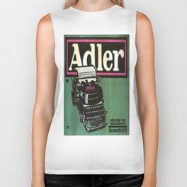 Vintage poster - Adler Typewriters Biker Tank