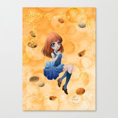 Pains japonais - Japanese breads Canvas Print