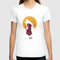 red riding hood T-shirts featuring Red Riding Hood by Blanca Limón