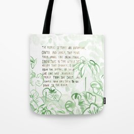 """Conquest of the Useless"" by Werner Herzog Print (v. 3) Tote Bag"