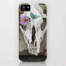 Coyote Shaman Altar iPhone Case