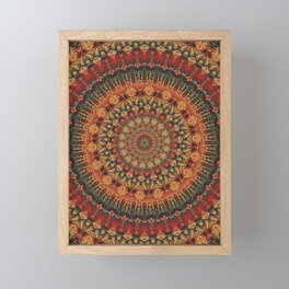 Mandala 563 Framed Mini Art Print