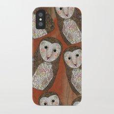 Barn Owl Slim Case iPhone X