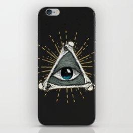 All seeing eye of God iPhone Skin