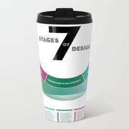 7 Stages of Design Metal Travel Mug