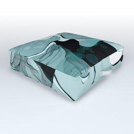 Underwater Party Outdoor Floor Cushion