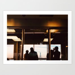 Ferry views Art Print