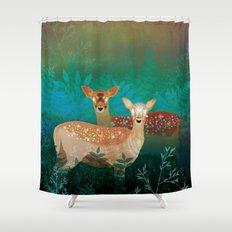 Last Solstice Shower Curtain