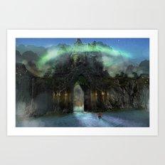 The Jade Gates Art Print
