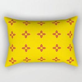 flag of new mexico 3 Rectangular Pillow