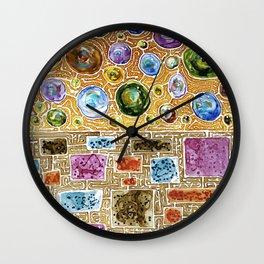 Schism Wall Clock
