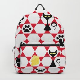 The challenge: one mouse, many cats, one award. Backpack