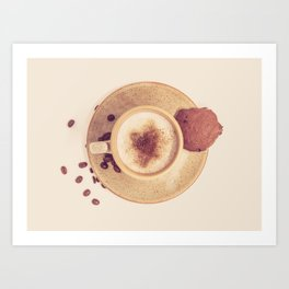 Vintage Coffee Love Photography Art Print