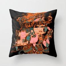 solmu Throw Pillow