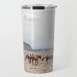 Wild Horses II Travel Mug