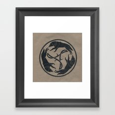 Running Wild Framed Art Print