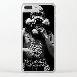 Ramayana ballet - Scream Clear iPhone Case